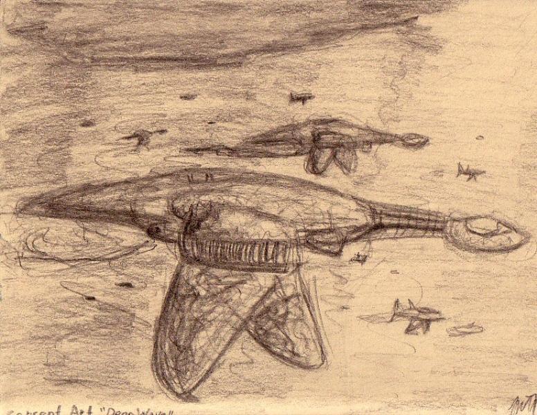 Sketch of a Colony Ship
