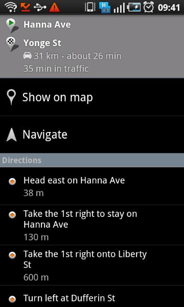 Turn-by-turn Navigation