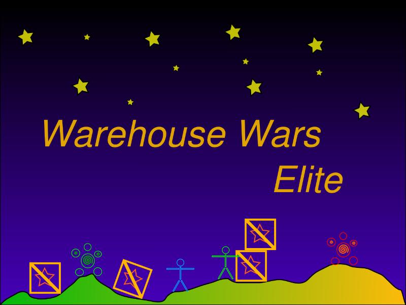 Warehouse Wars Elite Game Art